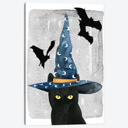 Black Cat II Canvas Print #POP465} by Grace Popp Canvas Art Print