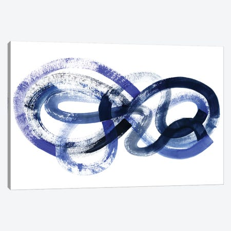 Blue Kinesis I Canvas Print #POP466} by Grace Popp Canvas Print