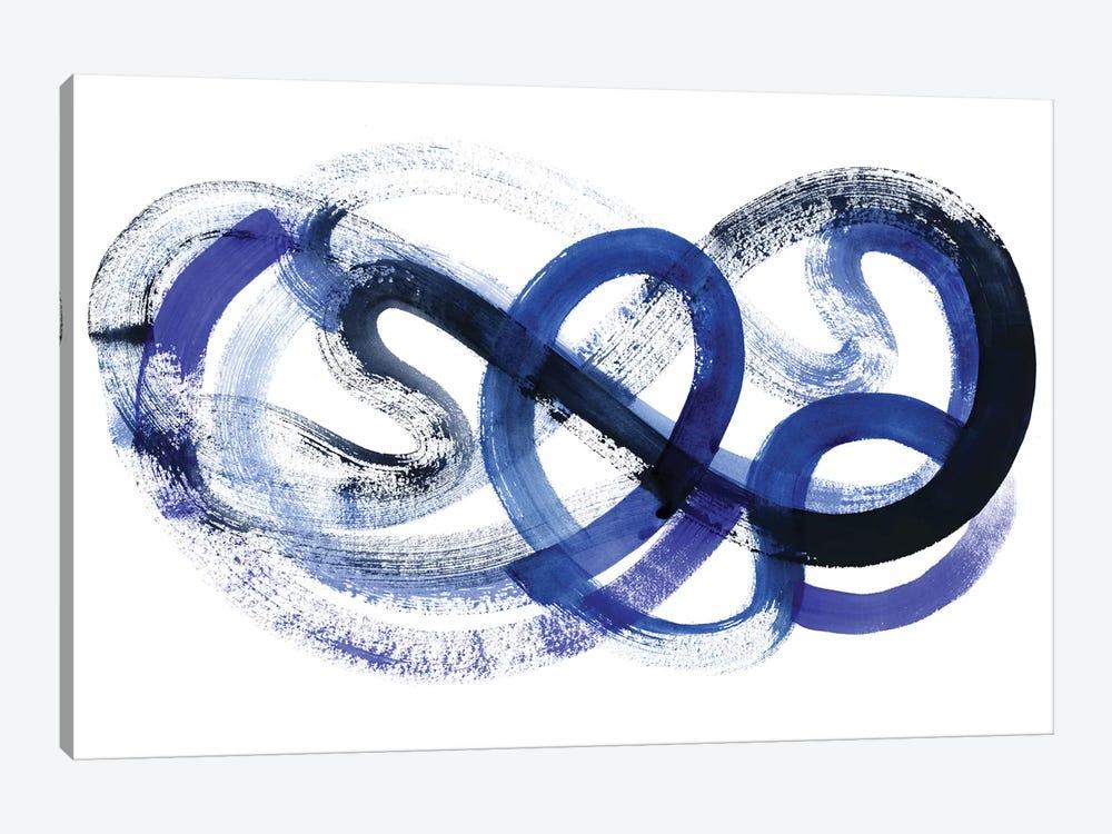 Blue Kinesis II by Grace Popp 1-piece Canvas Art