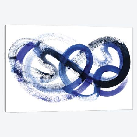 Blue Kinesis II Canvas Print #POP467} by Grace Popp Canvas Print