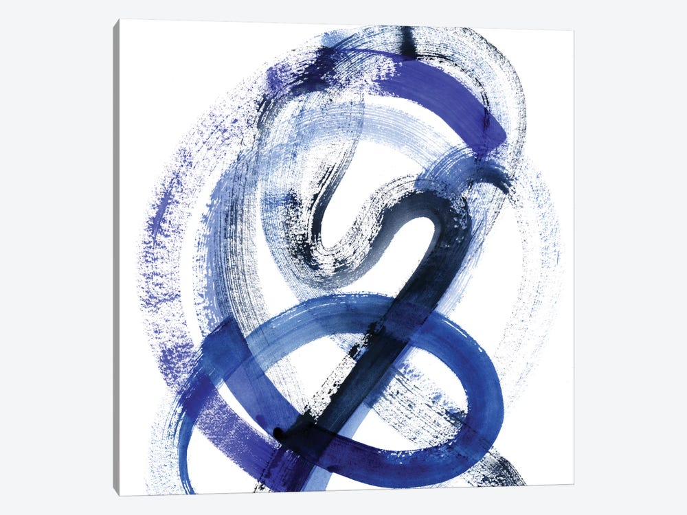 Blue Kinesis III by Grace Popp 1-piece Canvas Art Print