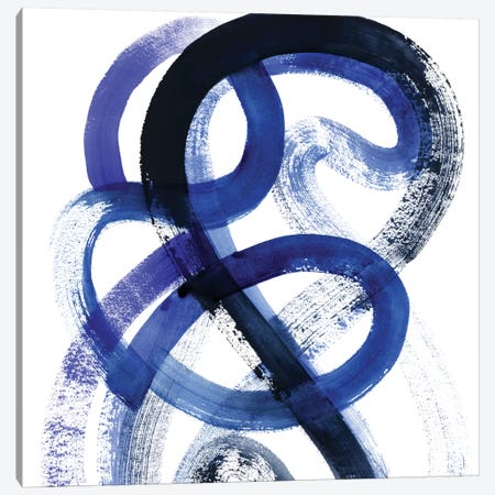 Blue Kinesis VI Canvas Print #POP471} by Grace Popp Art Print