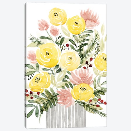 Blush Bouquet I Canvas Print #POP472} by Grace Popp Art Print
