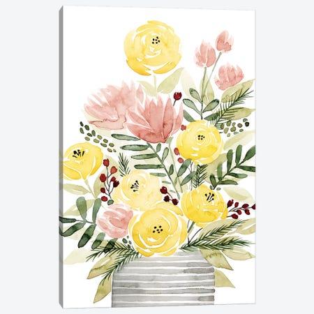 Blush Bouquet II Canvas Print #POP473} by Grace Popp Canvas Art Print