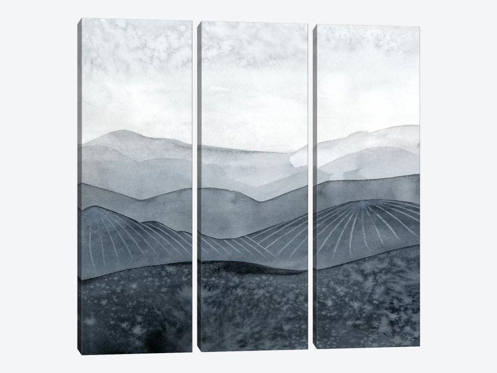 Blustering Valley I by Grace Popp 3-piece Canvas Artwork