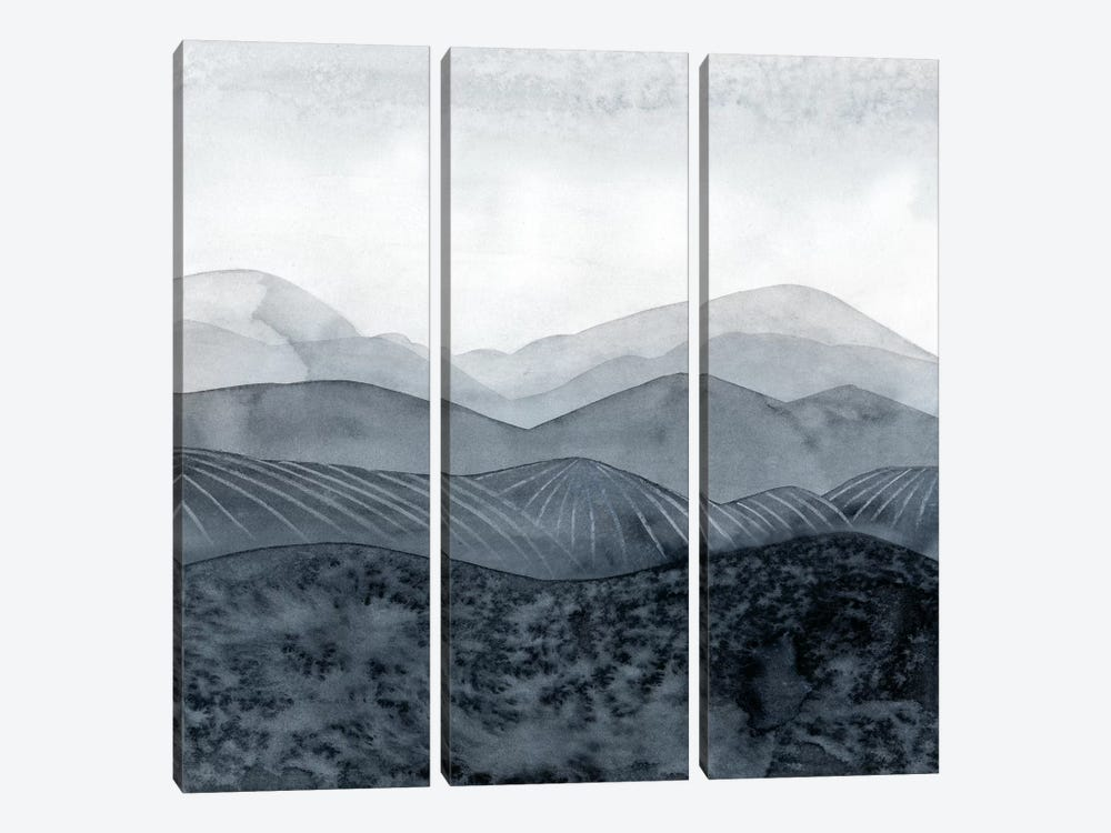 Blustering Valley II by Grace Popp 3-piece Canvas Art Print
