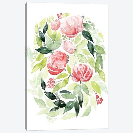 Buoyant Bouquet II Canvas Print #POP481} by Grace Popp Canvas Art