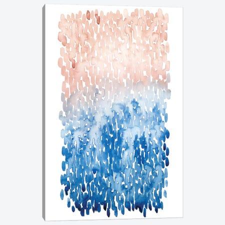 Coral Cascade I Canvas Print #POP493} by Grace Popp Art Print