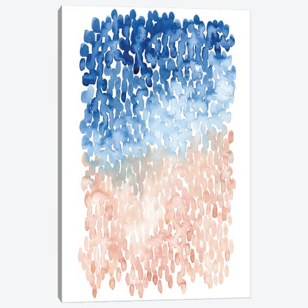 Coral Cascade II Canvas Print #POP494} by Grace Popp Canvas Wall Art