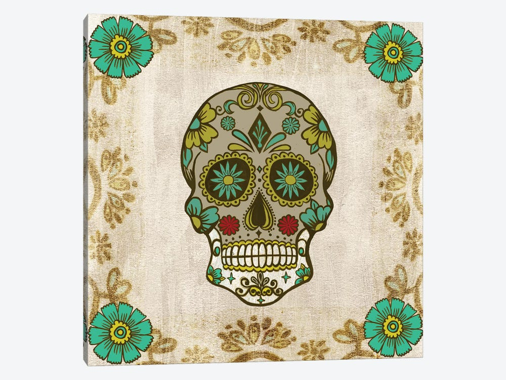 Day of The Dead I 1-piece Canvas Art Print