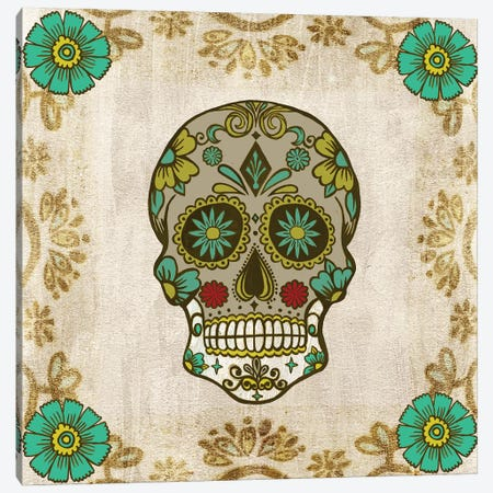 Day of The Dead I Canvas Print #POP501} by Grace Popp Canvas Print