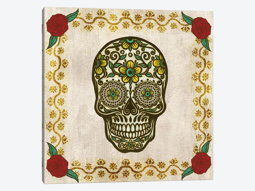Day of The Dead II 1-piece Canvas Wall Art