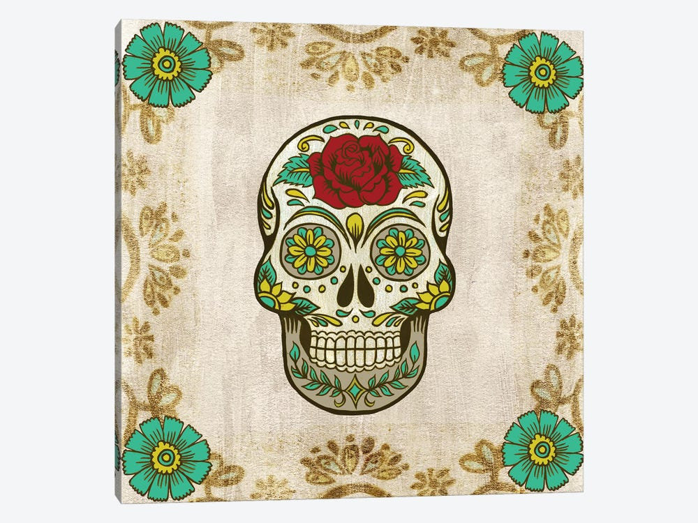 Day of The Dead III by Grace Popp 1-piece Canvas Art Print