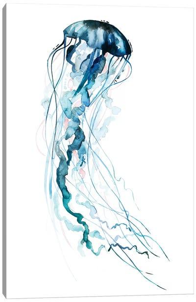 Electric Tangle II Canvas Art Print
