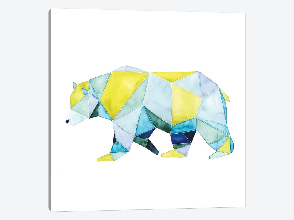Geo Animal I by Grace Popp 1-piece Canvas Print