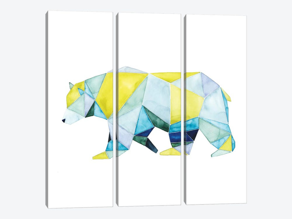 Geo Animal I by Grace Popp 3-piece Art Print