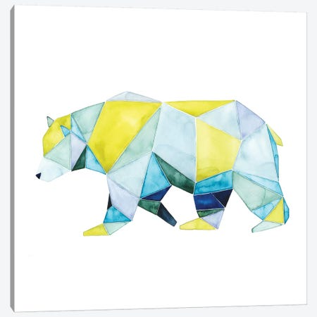 Geo Animal I Canvas Print #POP50} by Grace Popp Canvas Wall Art