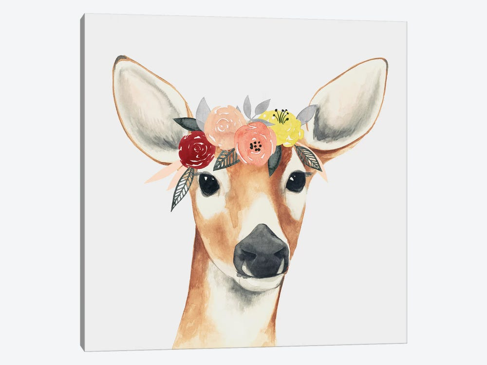 Flower Crown Forester I by Grace Popp 1-piece Art Print