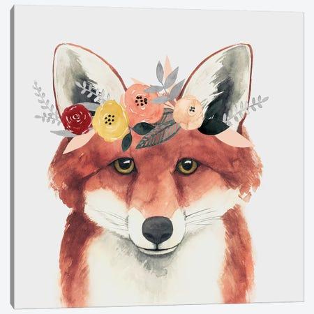 Flower Crown Forester IV Canvas Print #POP515} by Grace Popp Art Print