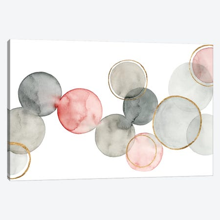 Gilded Spheres I Canvas Print #POP516} by Grace Popp Canvas Print