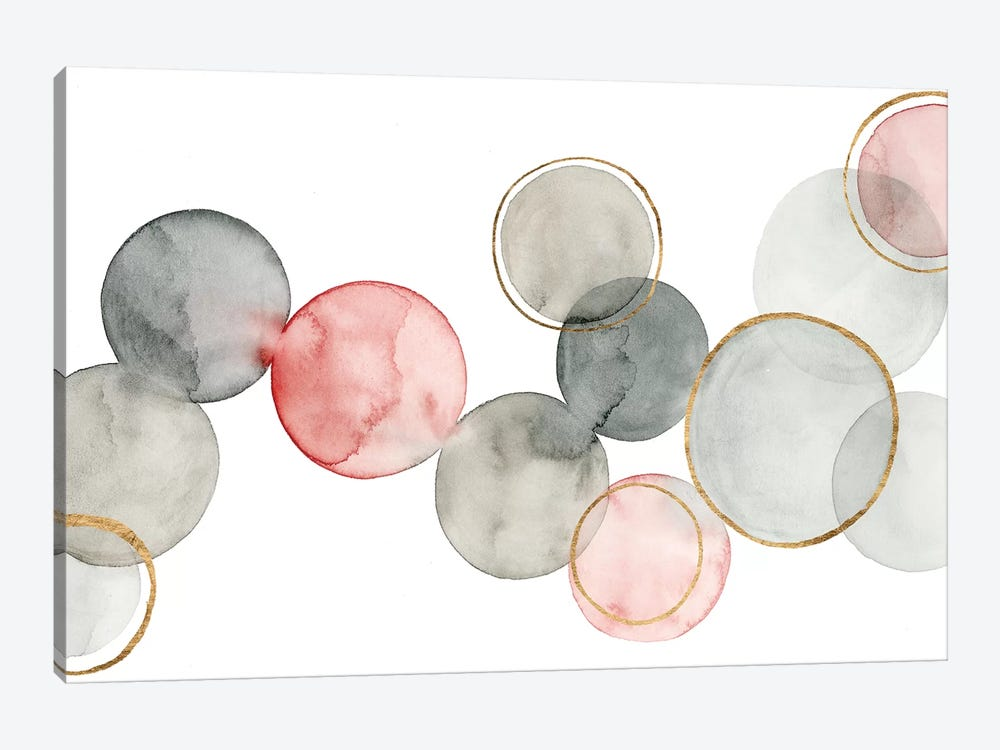 Gilded Spheres I by Grace Popp 1-piece Art Print