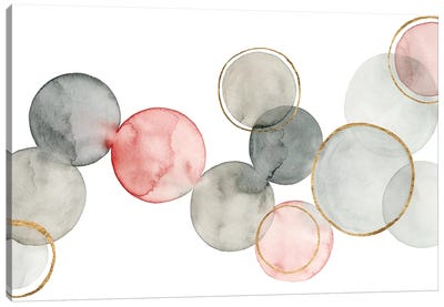 Gilded Spheres I Canvas Art Print