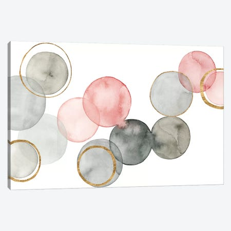 Gilded Spheres II Canvas Print #POP517} by Grace Popp Canvas Art Print