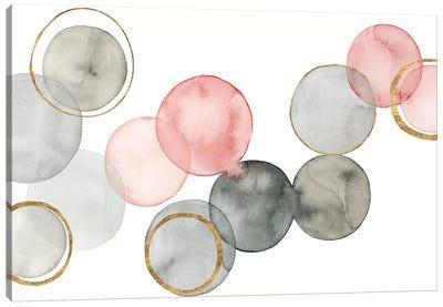 Gilded Spheres II Canvas Art Print