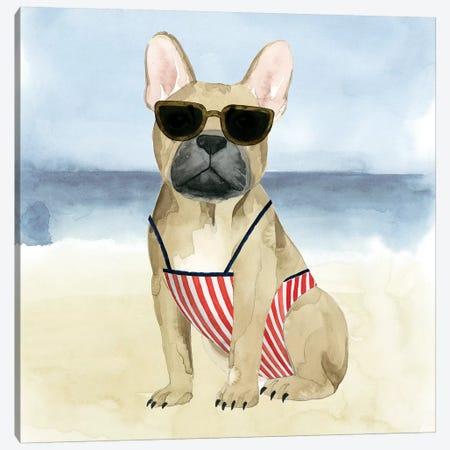 Hot Dog I Canvas Print #POP520} by Grace Popp Canvas Print