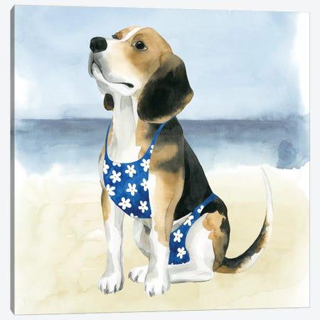 Hot Dog II Canvas Print #POP521} by Grace Popp Art Print