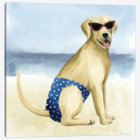 Hot Dog III Canvas Print #POP522} by Grace Popp Art Print