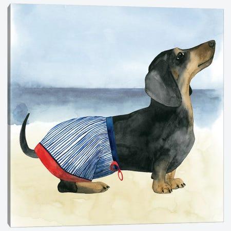 Hot Dog IV Canvas Print #POP523} by Grace Popp Canvas Art Print