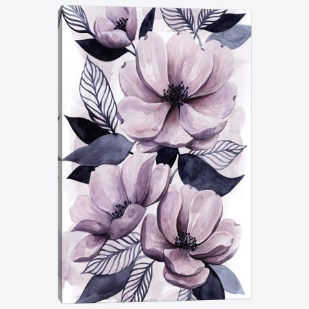 Lavender Burst II Canvas Print #POP527} by Grace Popp Canvas Wall Art