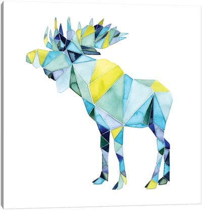 Geo Animal III Canvas Art Print