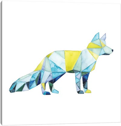 Geo Animal IV Canvas Art Print