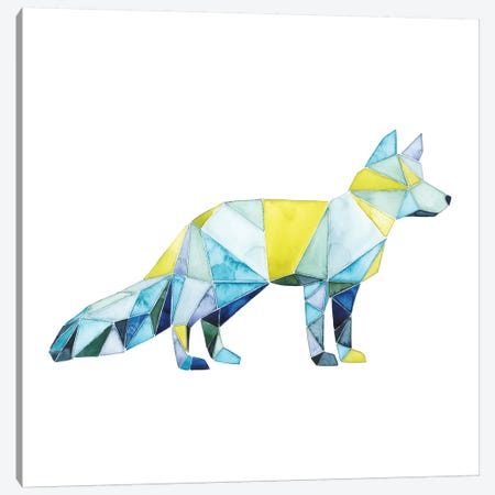 Geo Animal IV Canvas Print #POP53} by Grace Popp Canvas Artwork