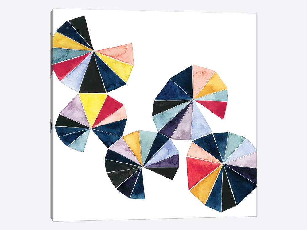 Pinwheel Bright II by Grace Popp 1-piece Canvas Print