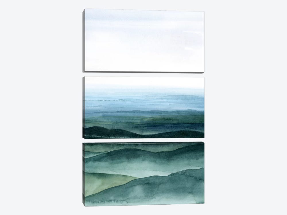 Plane View I by Grace Popp 3-piece Canvas Wall Art