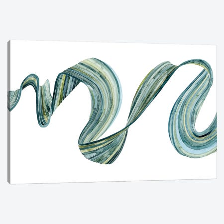 Ribbon Stream I Canvas Print #POP552} by Grace Popp Canvas Wall Art