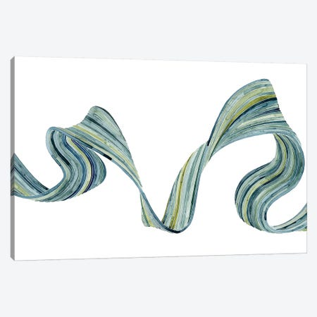 Ribbon Stream II Canvas Print #POP553} by Grace Popp Canvas Art