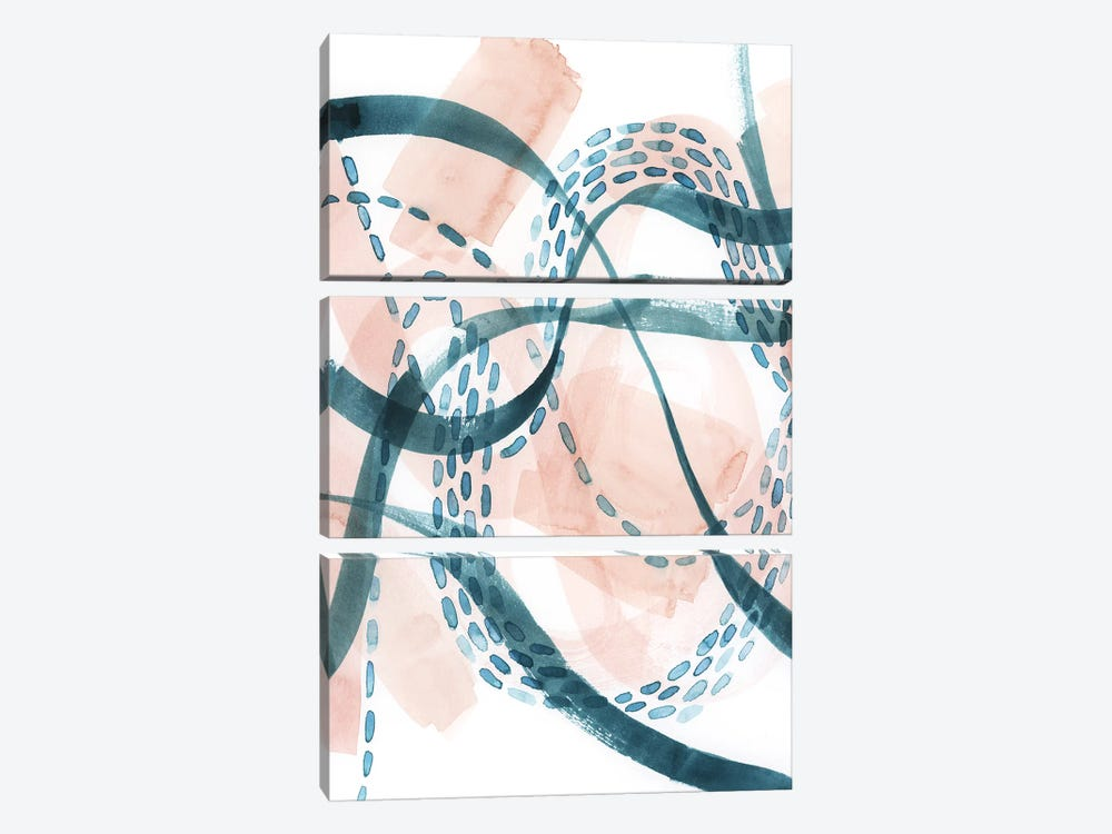 Ripple Flux I by Grace Popp 3-piece Canvas Print