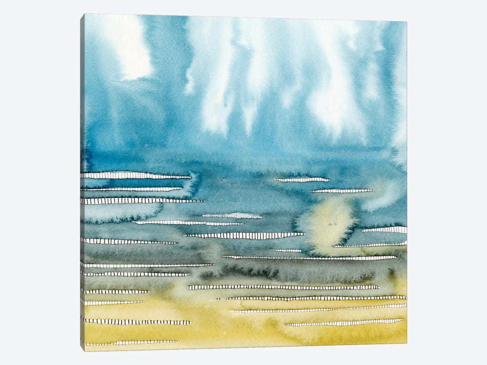 Rising Vapors II by Grace Popp 1-piece Canvas Art