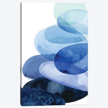 River Worn Pebbles I Canvas Print #POP558} by Grace Popp Canvas Art