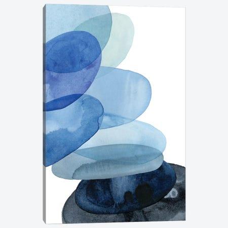 River Worn Pebbles II Canvas Print #POP559} by Grace Popp Canvas Wall Art