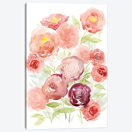 Rosen Garden I Canvas Print #POP560} by Grace Popp Canvas Art Print