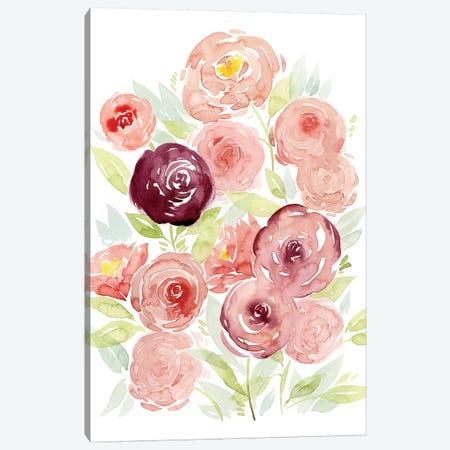Rosen Garden II Canvas Print #POP561} by Grace Popp Canvas Art Print