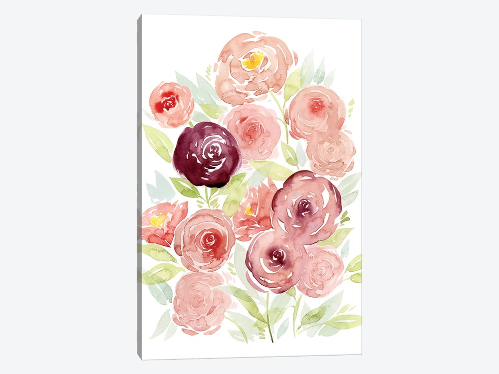 Rosen Garden II by Grace Popp 1-piece Canvas Print