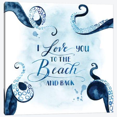 Sea Lovers IV Canvas Print #POP567} by Grace Popp Canvas Wall Art