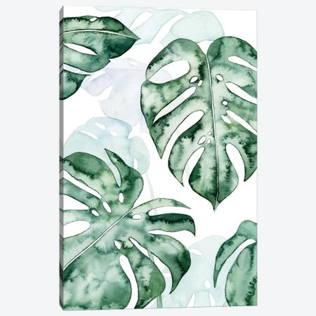 Split Leaf I Canvas Print #POP570} by Grace Popp Canvas Art