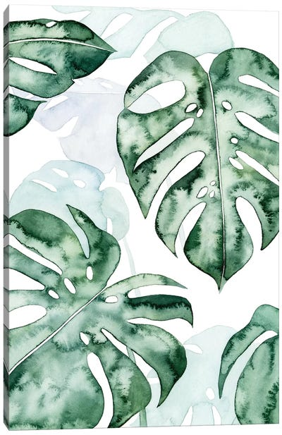 Split Leaf I Canvas Art Print